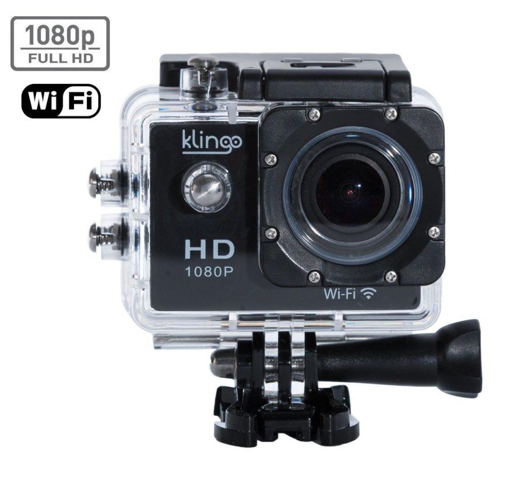 Caméra embarquée Klingo ActionPro - Full HD - 12 Mégapixels