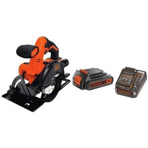 Sélection d'outils Black & Decker en promotion - Ex : Scie circulaire sans fil BDCCS18N-XJ - 140 mm - 18 V + Batterie et chargeur
