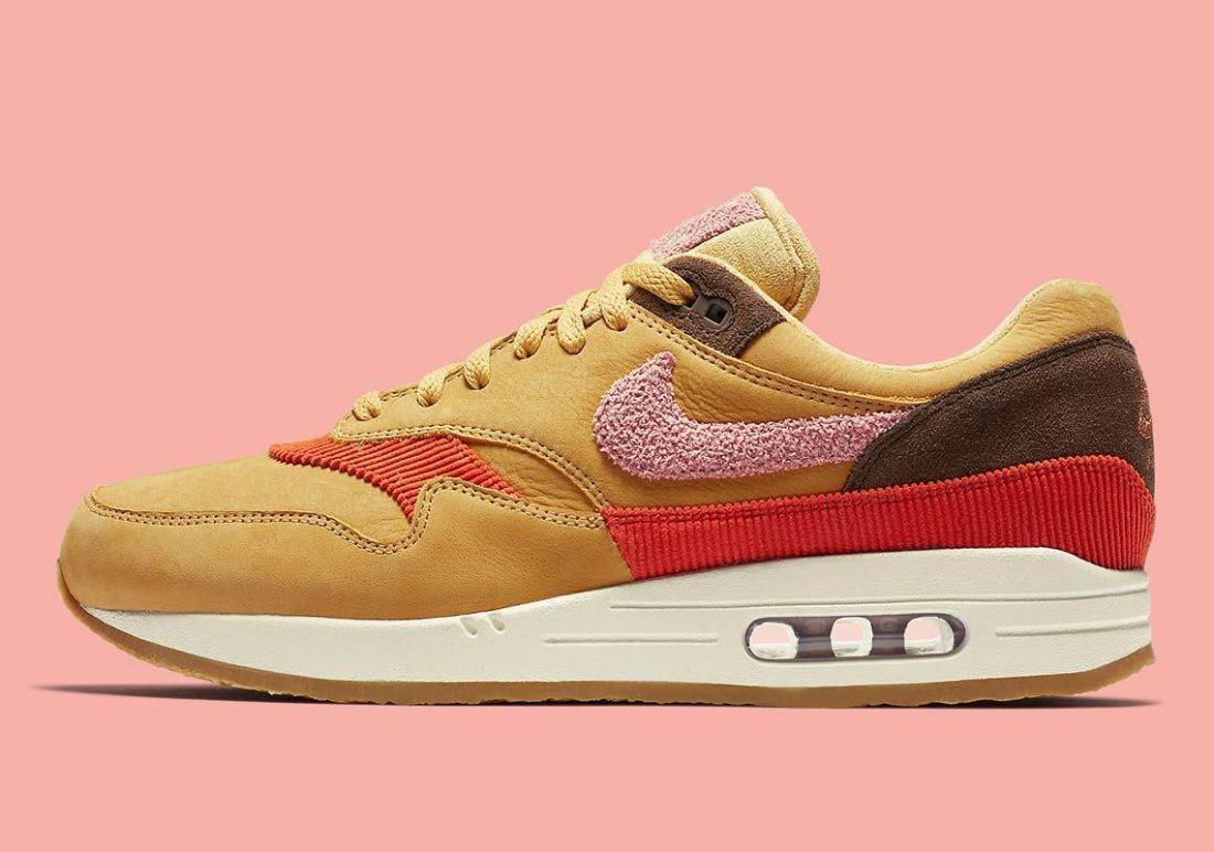 cheap for discount cc9b3 5c73e Sélection de chaussures Nike Air Max 1 en promotion - Ex   What Gold (du