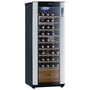 cave vin de vieillissement haier jc160gd capacit 50 bouteilles. Black Bedroom Furniture Sets. Home Design Ideas