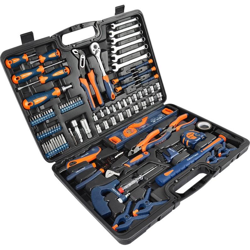 Mallette d'outils Dexter - 108 Pièces