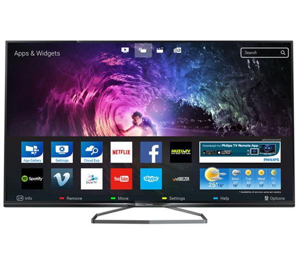 """TV 40"""" Philips 40PUS6809  - UHD - 3D"""