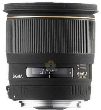Objectif Sigma 28 mm f/1.8 EX DG Asphérique Macro pour monture Canon