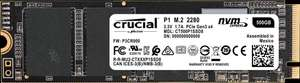 SSD interne M.2 NVMe Crucial P1 - 500 Go