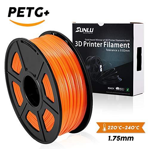Filament pour imprimante Sunlu 3D PETG - 1.75 mm, 1Kg - Plusieurs coloris (vendeur tiers)