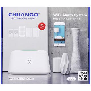 Système d'Alarme Chuango OV2 - 6 pièces + application