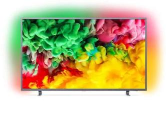 """TV 50"""" Philips 50PUS6703/12 - UHD 4K, Smart TV, LED TV, 1100 PPI, Ambilight"""