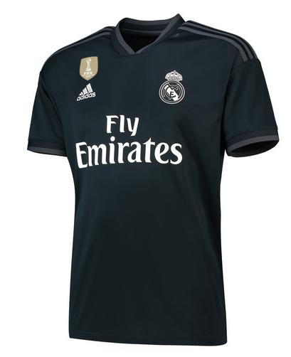 Maillot Adidas extérieur du Real Madrid 2018/2019