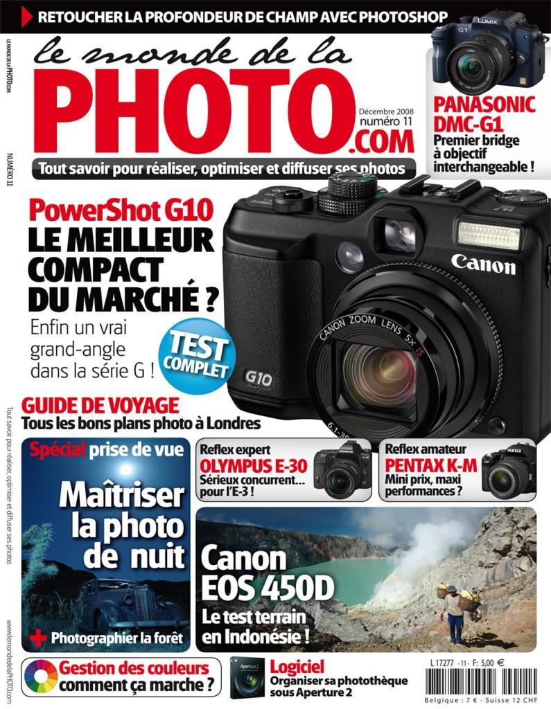 Fourre Tout Lowepro urban Reporter 350 + 1 an d'abonnement  à 2 magazines (Le Monde de la Photo et Workflow)