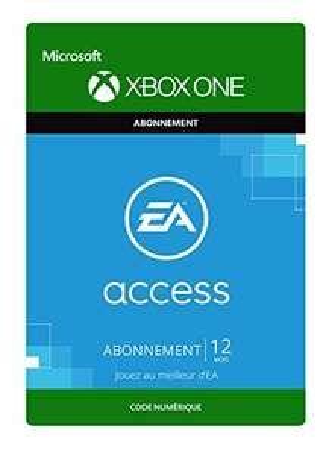 Code Abonnement EA Access pour Xbox One – 1 An (Dématérialisé)