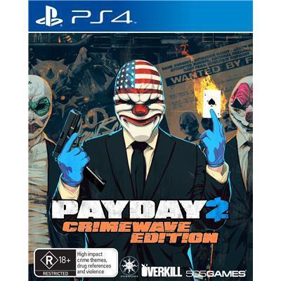 Payday 2 - crimewave edition sur PS4 et Xbox One et  La Terre du Milieu L'ombre du Mordor sur Xbox One