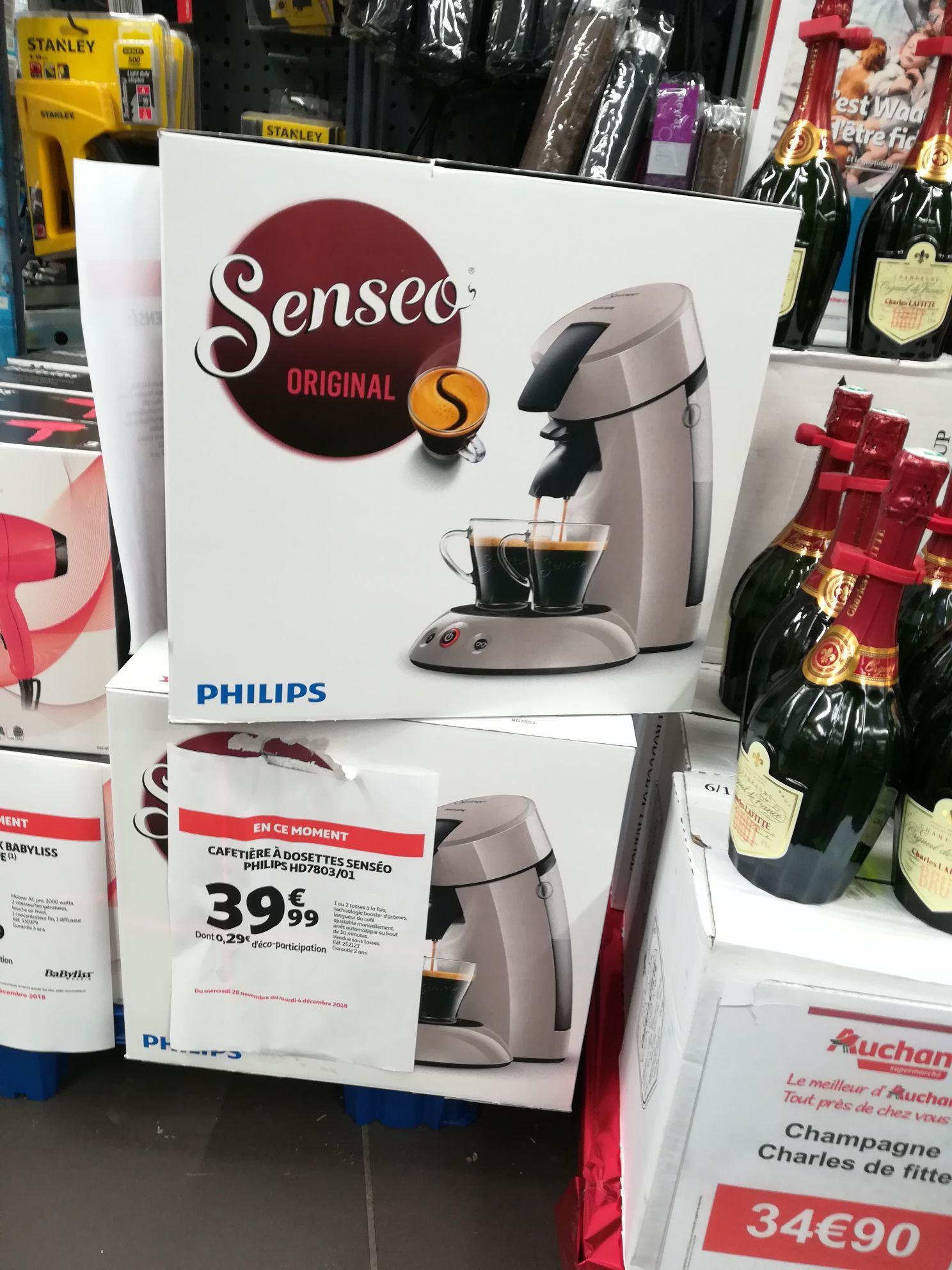 Machine à café Senseo original Philips HD7803/01 - Auchan Lyon (69)