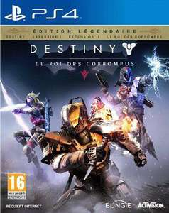 Précommande : Destiny - le Roi des Corrompus Edition Légendaire sur PS4 et Xbox One
