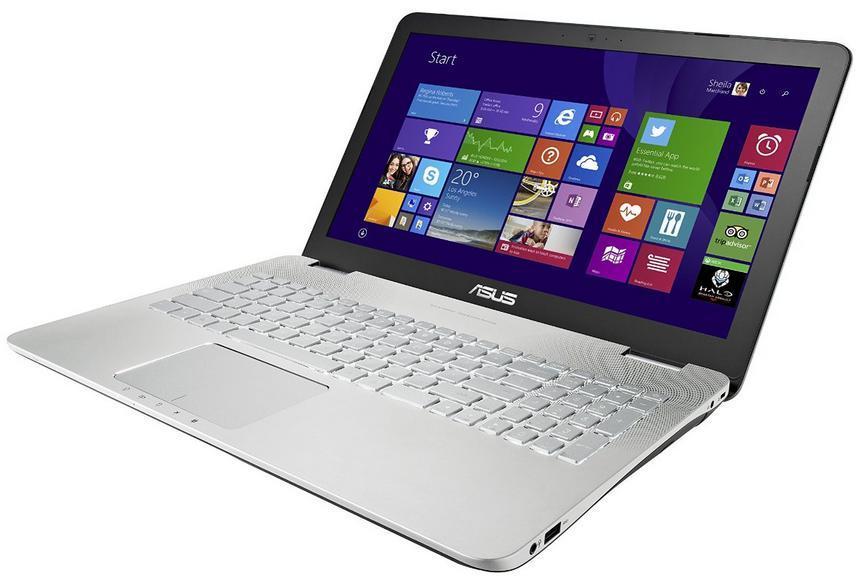 """PC Portable 15.6"""" Asus N550JX-CM088H (Intel Core i7, 8 Go de RAM, Disque dur 1 To, Nvidia GeForce GTX 950M)"""