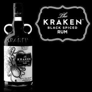 Rhum Kraken Black Spiced Rum - 70 cl