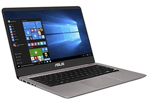 """PC Ultrabook 14"""" Asus Zenbook UX410UA-GV410T - Full HD Gris (Intel Core i7, 8 Go de RAM, SSD 256 Go, Windows 10)"""