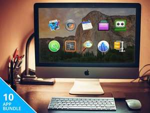 10 applications MAC (CrossOver 14, Scapple, Screens...)