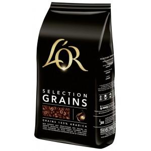 Paquet de Café grains Or sélection - 1 Kg (via 5.18€ sur la carte de fidélité + ODR)