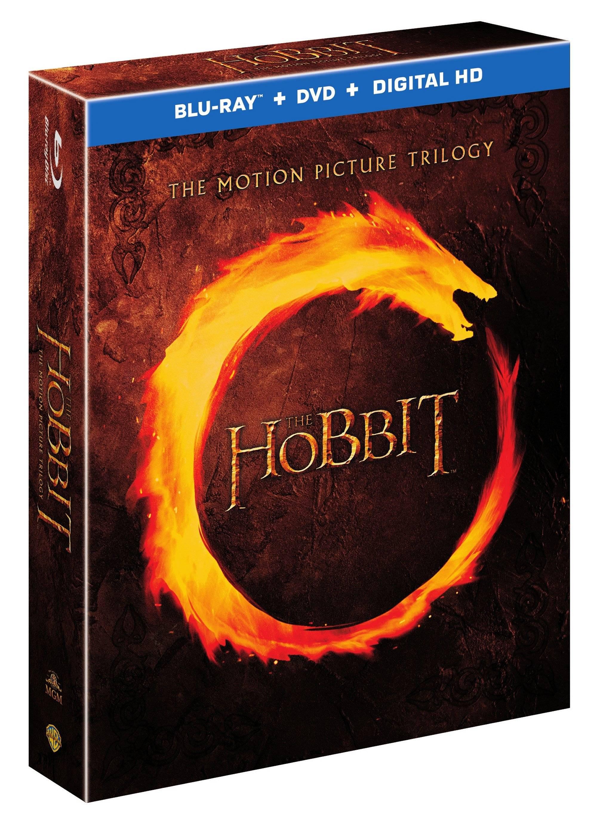 Précommande : Coffret Blu-ray 2D/3D Trilogie du Hobbit (Versions longues)