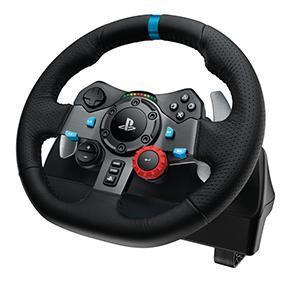 Volant + Pédalier Logitech G29 Driving Force pour PS4 / PS3 et PC