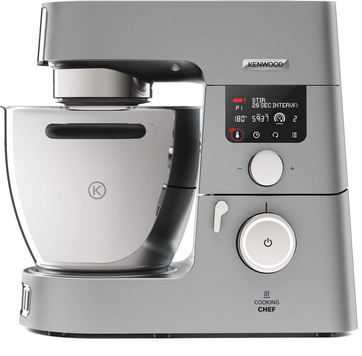 Robot de Cuisine Kenwood KCC9060S Cooking Chef Gourmet - 1500 W