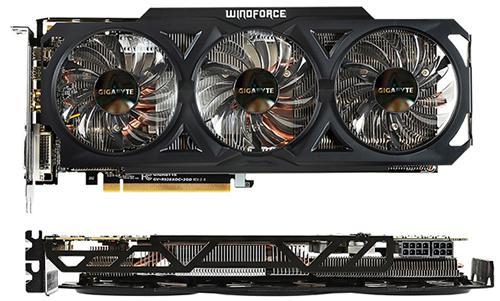 Carte graphique Gigabyte AMD Radeon R9 280 3Go WindForce 3