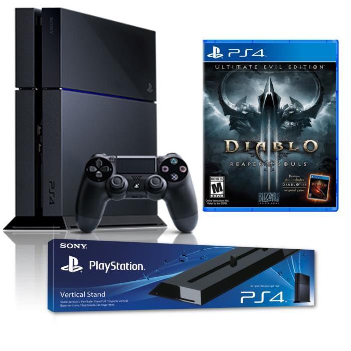 Console PS4 1To + Présentoir vertical Sony + Diablo 3 Reaper of Souls