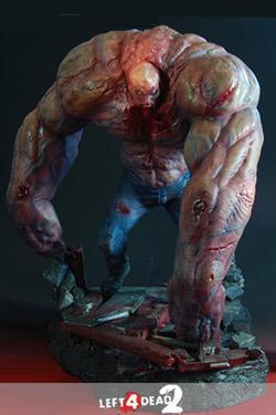 Statuette  du Tank de  Left 4 Dead- 38cm - Numérotée