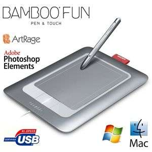 Tablette tactile Wacom Bamboo Pen & touch Fun S