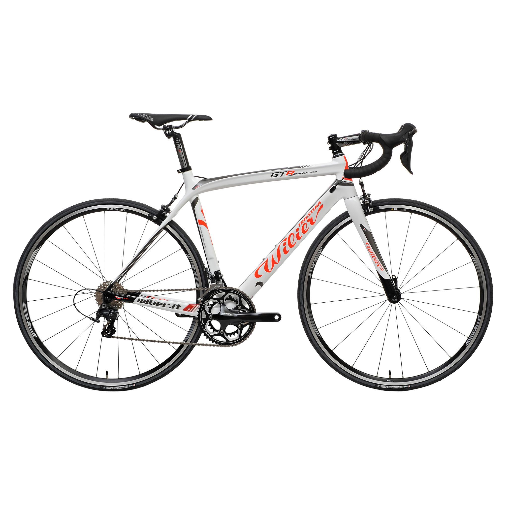 Vélo de course Wilier Triestina GTR Shimano Ultegra 6800 34/50 Blanc/Rouge 2015