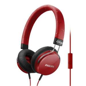Casque audio supra-aural Philips SHL5305RD - Rouge