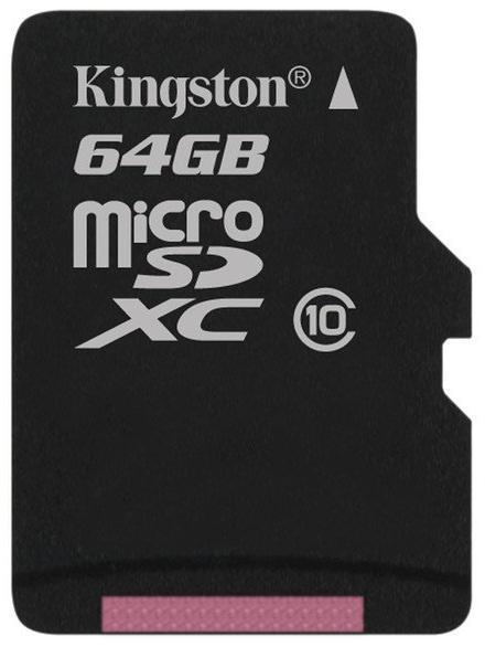 Carte micro SDXC Kingston 64 Go Classe 10