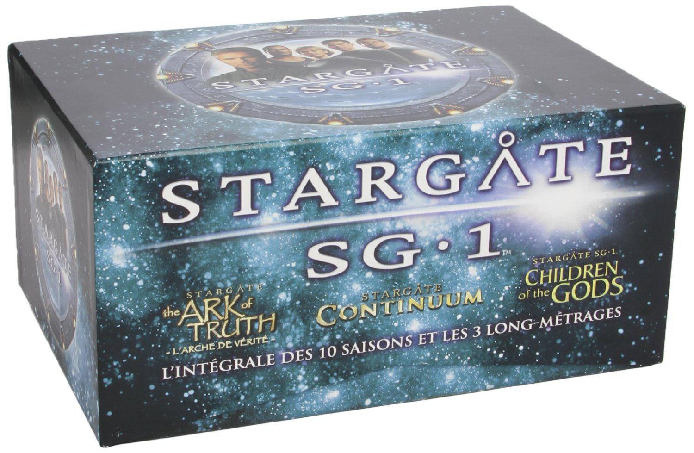 Coffret DVD Stargate SG-1 - L'intégrale des 10 saisons + 3 films [Édition Limitée]