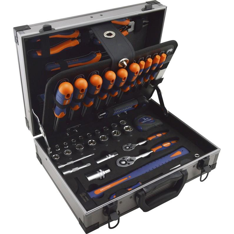 Coffret d'outils Dexter - 110 pièces