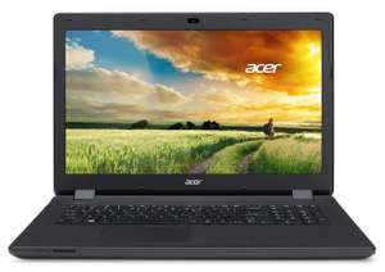 "PC Portable 17"" Acer Aspire ES1-771-P4JE - Intel Pentium N3540, 4 Go de RAM, 500 Go, Windows 8.1 - Noir"