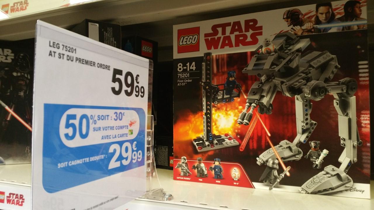 Lego Star Wars 75201 - First order AT-ST - La Defense 92 (Via 29.99€ sur la Carte fidélité)