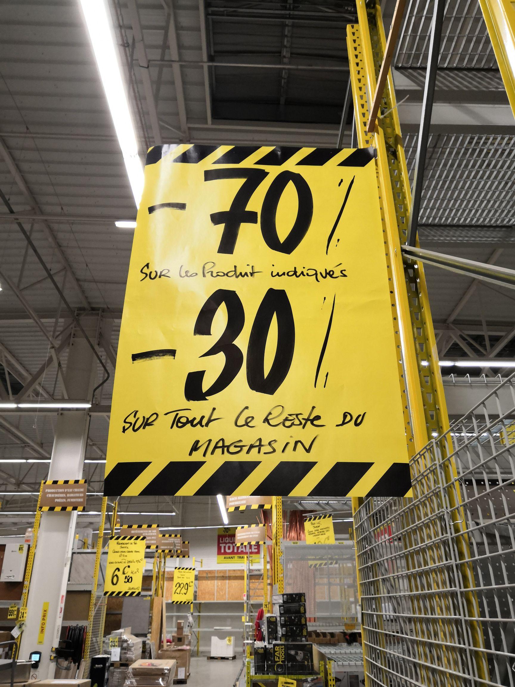 70% de réduction sur les produits signalés et 30% sur tout le reste du magasin - Batkor Meaux (77)