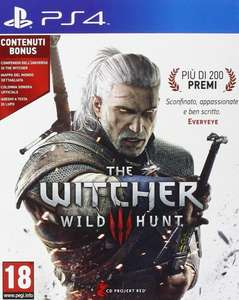 Jeu The Witcher III: The Wild Hunt sur PS4 - Day One Edition