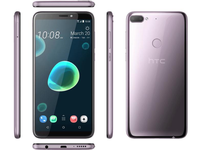 "Smartphone 6"" HTC Desire 12+ - HD+, SnapDragon 450, 3 Go de RAM, 32 Go, violet (frontaliers Allemagne)"