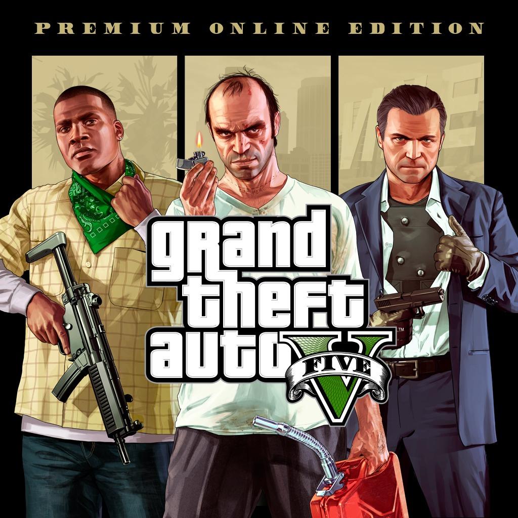 Bundle Grand Theft Auto (GTA) V + pack Édition Premium Online sur PS4 (dématérialisé)