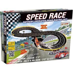 Circuit de voitures électriques Golden Bright Speed Race - 2 voitures + piste (2 m)