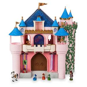Coffret deluxe Disney Animators Littles - Château de La Belle au Bois dormant