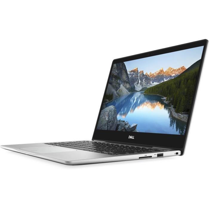 "PC portable 13.3"" Dell Inspiron 13-7370 - Full HD, i7-8550U, RAM 16Go, 512 Go SSD, Windows 10"