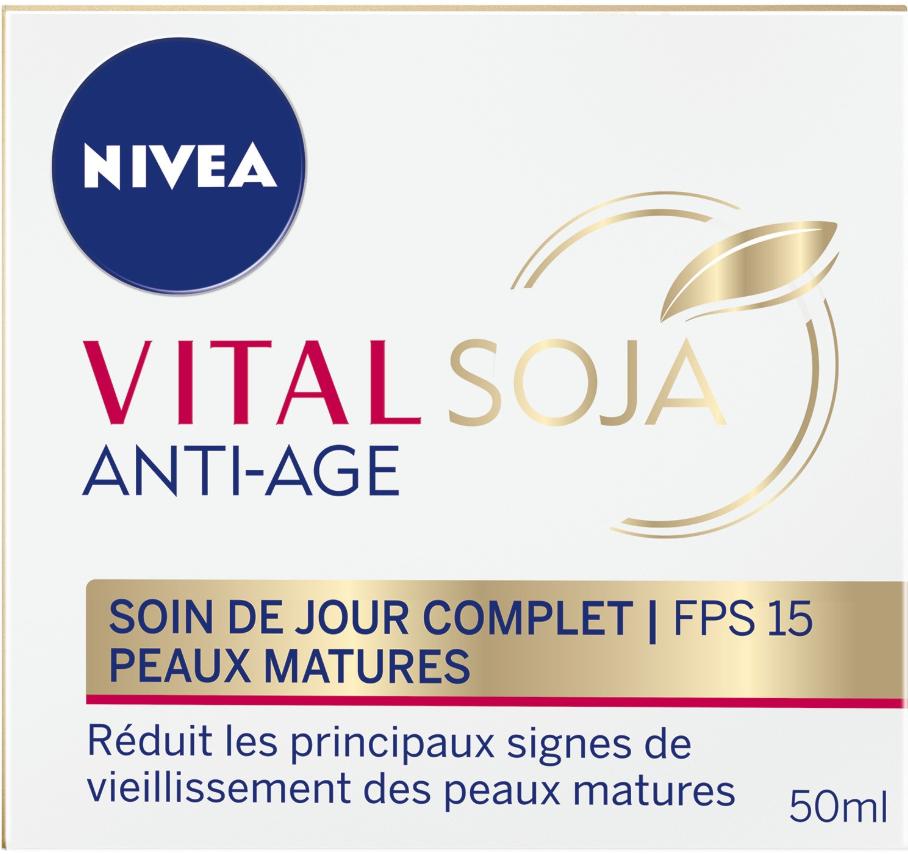 Soin Anti-âge Jour Niveau VitalSoja pour Peaux Matures - 50ml - Drive Nanteuil-lès-Meaux (77)