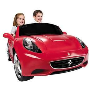 Voiture Ferrari California 12V (retrait en magasin)