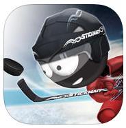 Jeu Stickman Ice Hockey gratuit sur iOS (au lieu de 0.99€)