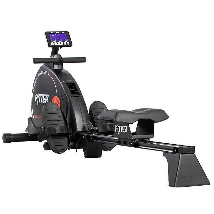 Rameur motorisé de haute performance Fytter Trainer TR-05R - 18 programmes/13 fonctions - 197 x 45 x 87 cm