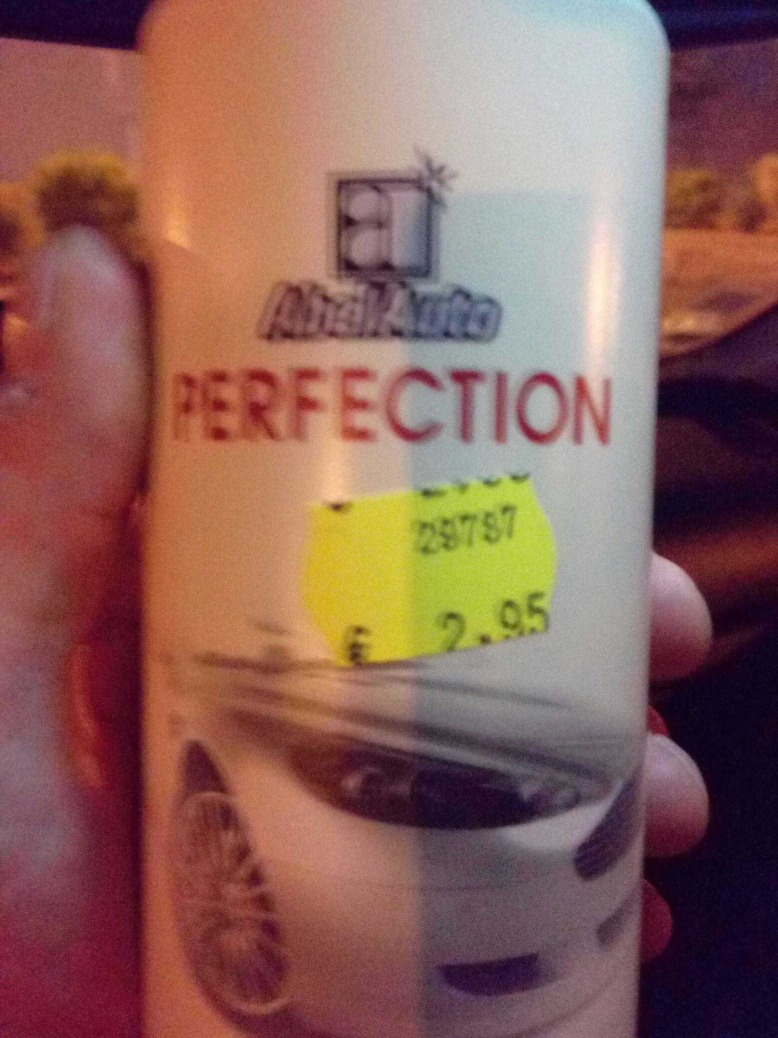"Gamme Abel auto ""perfection""  - Ex : Polish Abrasif"