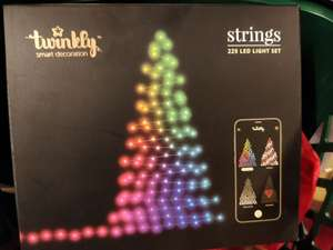 Guirlande LED Twinkly Forme Sapin (Forme rideau disponible) - Les Armoiries (94)