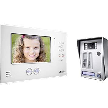 Visiophone Somfy v200 rts - Blanc